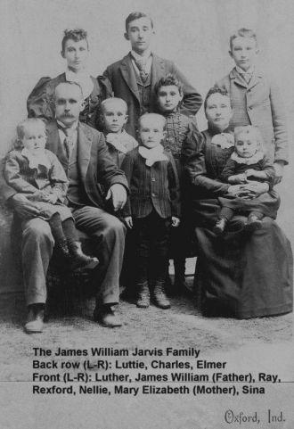 James William Jarvis family