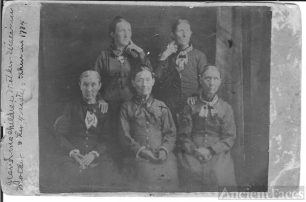 Grandma Childres & Daughters