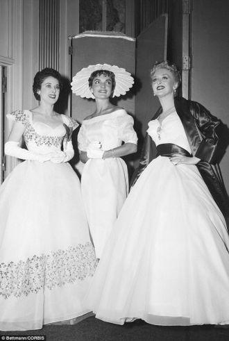 Jacqueline (Bouvier) Kennedy, 1954