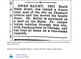 Owen Bailey, 6 acres