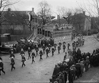 Fire Department on Parade - 1923