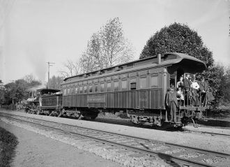 Lackawanna Railroad Car