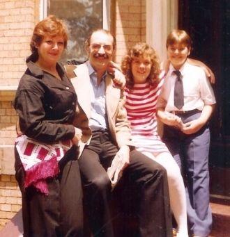 John Svendsen and family.