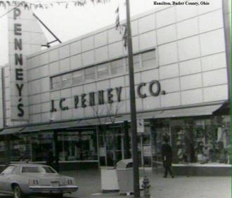 J.C. Penney Co. in Hamilton, Ohio