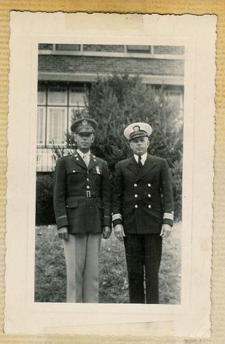 Willard Boyd in Uniform