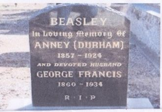 A photo of Annie (Durham) Beasley