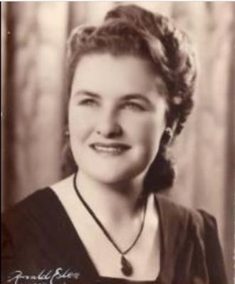 Norma Vivian Curnow (nee Macleod)