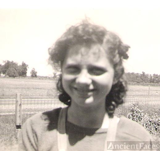 Martha Mae Havens 1940 Indiana