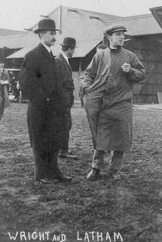 Orville Wright & Hubert Latham