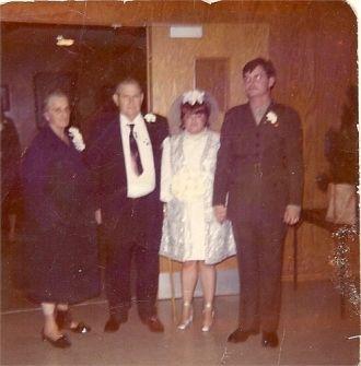 Sharon (Porter) & Bill Busch, 1971 MI