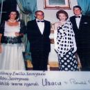 Emilio Savorgnan & President Reagan
