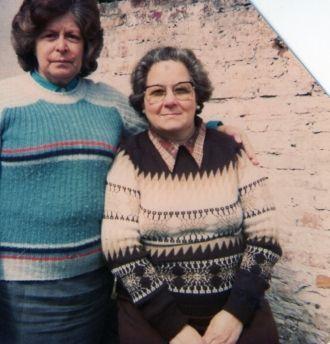 LEONOR ALBORNOZ Y BLANCA LILA FERRIER DE GRECO