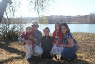 Manda and Russell Hicks family
