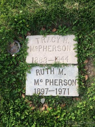 Eunice Ellen McPherson Gravesite