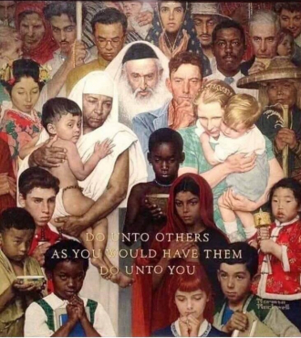 Norman P Rockwell Painting