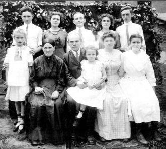 Joseph & Julia Ries Family, New York 1912