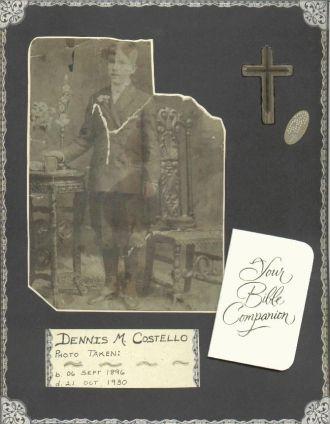 Great Uncle Dennis~1st Communion