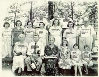 Family of Frank Dickson Mt. Olive MS