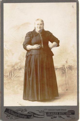 Cyrena Sarah (Beckwith) Frazee, Iowa