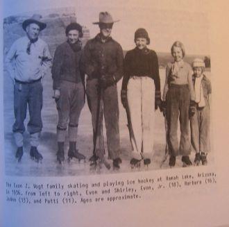 Evon Zartman Vogt Family, 1936