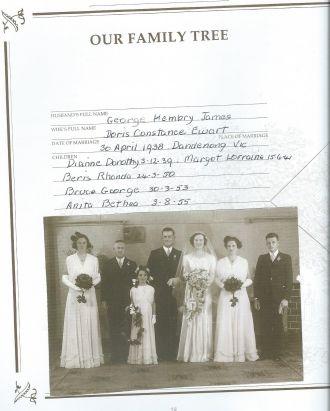 Doris (Ewart) & George James