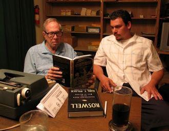 James Willett Moseley and interviewer