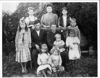 William Franklin & Rose Gregory Family