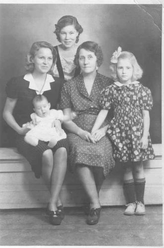 Simmons girls 1937