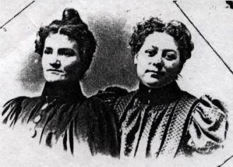 Sisters, Clara & Anna Bodishbaugh