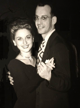 Gertrude and her husband, Jacob (Jack) Weiss.