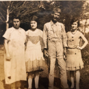 Frances, Lear, Edward, and Nell