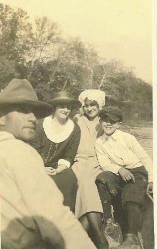 Asa Neal, Carmie Colglazier, & Thelma Railing