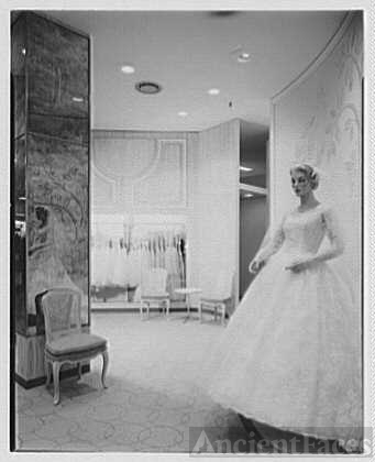 Gimbels Bridal shop