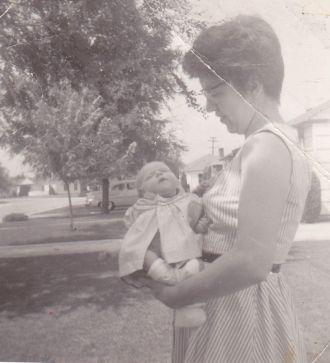 Margaret and Karen Nagel, 1958 Indiana