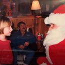 Charlie as Santa with Prudence