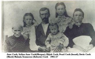 Jane Cook, 1901