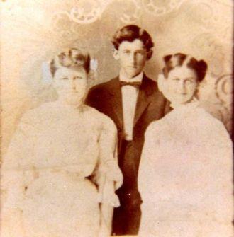 Mattie Smith Stratton, Eli Frank Snider, & Dora Velma Smith