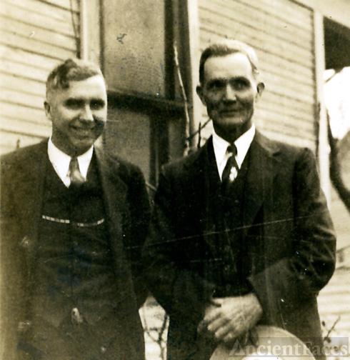 Marvin and Joel Holcomb Jackson Walter Holcombe's sons