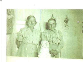 Elisha & Lillie May Morgan, 1957 Kansas