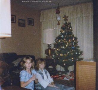 Rebecca and Jamie Bradley, 1985