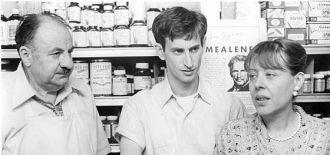 Lenny Baker, Lou Jacobi & Helen Hanft