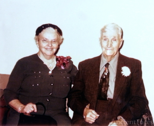 Jennie and John Thomas Morgan