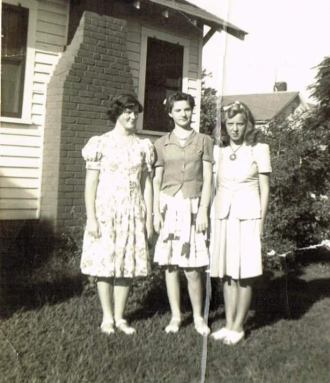 Doris, Carroll, and Pat Phillips