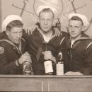 Don W Quam with mates U.S. Navy 1944