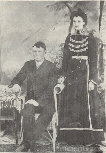 Benjamin Franklin Wadsworth and Nora Viola Bond