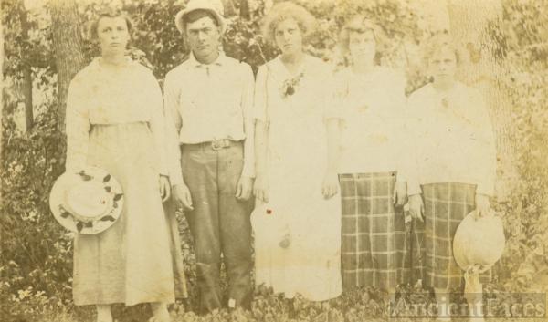 Sena, Henry, Edna, Nela & Lela Ponder, Arkansas