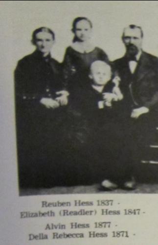 Reuben Hess Family