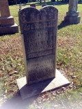 John Steel's tombstone