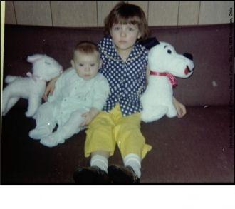 Jamie and Pam, 1970
