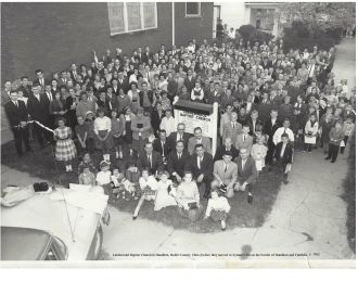 Lindenwald Baptist Church, c. 1962